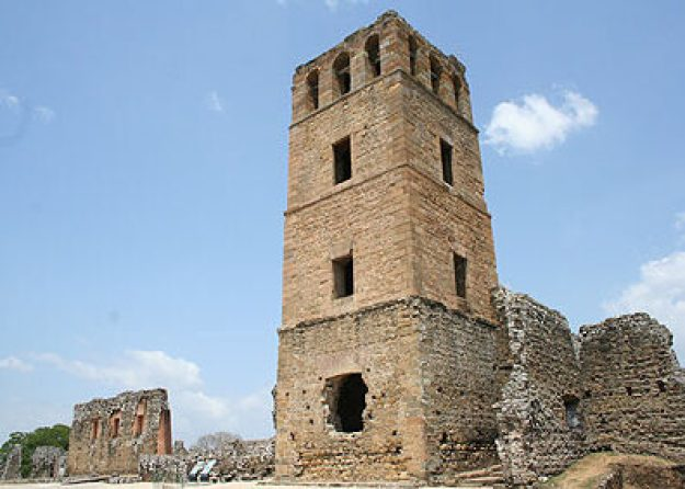 Första staden. Panama Viejo