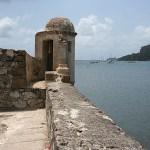 Spanska fortet. Portobelo