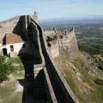 Del av försvarsmuren. Marvao