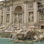 Fontana di Trevi. Rom. Italien (U)