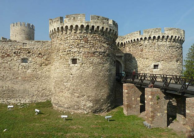 Fästningen Kalemegdan. Belgrad