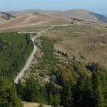 Vy från Kopaonik National Park
