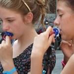 Flickor med nappar! Barcelona