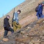 Beväpnad vakt. Longyearbyen