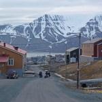 Midnattsljus. Longyearbyen