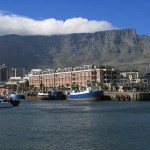 Table Mountain. Kapstaden