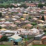 Bostadsområde. Soweto