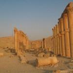 Den stora kolonnaden. Palmyra (U)
