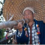 Rökande akhaman. Chiang Saen