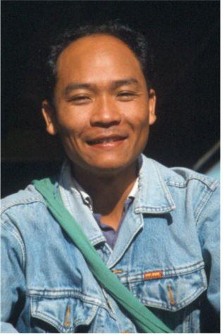 Vår guide Pichai. Mae Salong