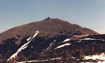 Tjeckiens högsta berg Sneska