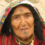 Berberkvinna. Chenini