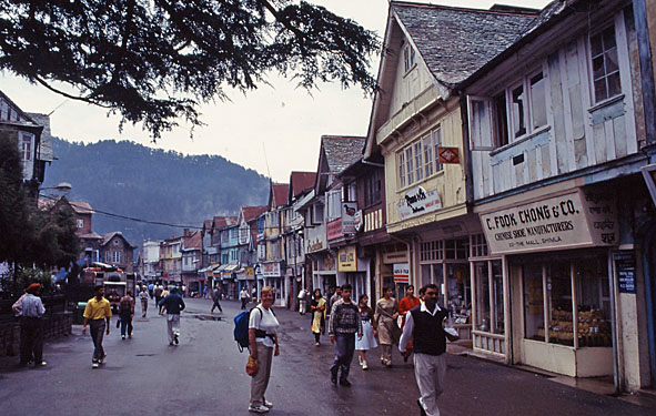 The Mall. Shimla