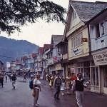 The Mall. Shimla