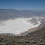 Vy från Death Valley CA