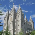 Mormontemplet. Salt Lake City
