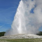 """Old Faithful"". Yellowstone N P (U)"