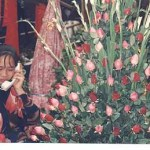 Blomstermarknad. Hanoi