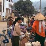 Gränsövergång. Lao Cai
