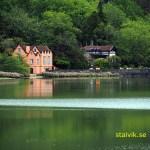 Vandring runt Lagoa de Furnas