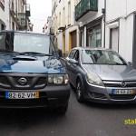 Trångt på gatorna i den gamla staden! Ponta Delgada
