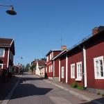 Trähusen i Elsborg. Falun. Sverige