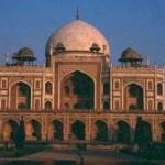 Humayums grav. New Delhi. Indien