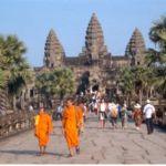 Angkor Vat. Kambodja