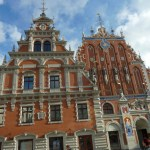 Blackheads House. Riga. Lettland (U)