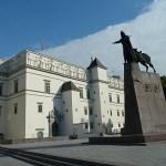 Kungliga slottet. Vilnius. Litauen (U)