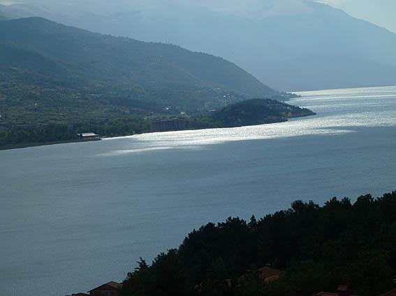 Sjön Ohrid, en av jordens äldsta (U)