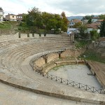 Romerska teatern. Ohrid (U)