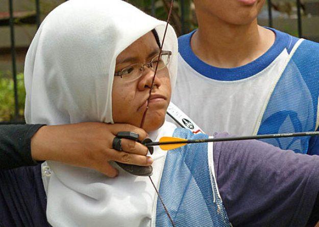 Bågskytt. Kuala Lumpur