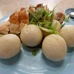 Kyckling med risbollar. Malacka