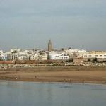 Vy över staden. Rabat