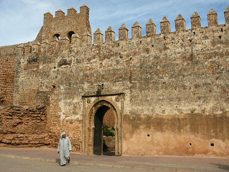 Del av stadsmuren. Rabat (U)
