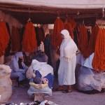 Färgarnas basar. Marrakech