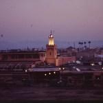 Torget Djema el-Fna. Marrakech. Marocko (U)