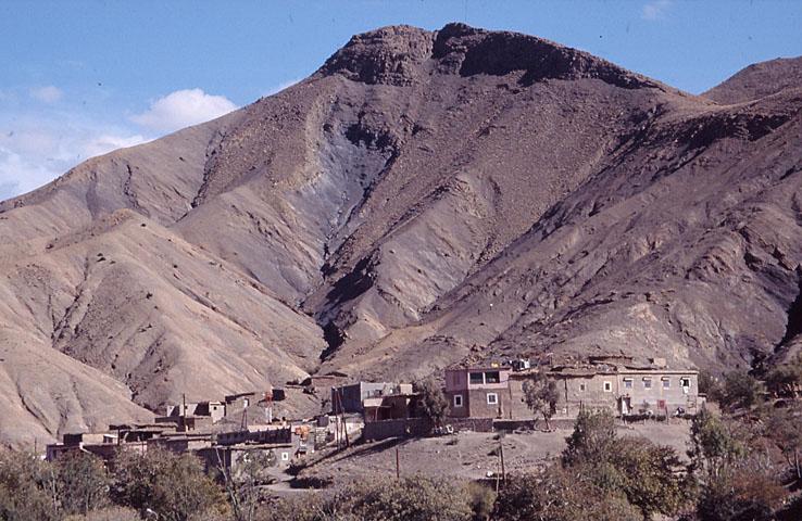 Höga Atlas. Öster om Marrakech