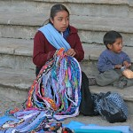 Indianska barn. San Cristobal de las Casas