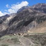 Vandringsvy. Humla Valley. Nepal