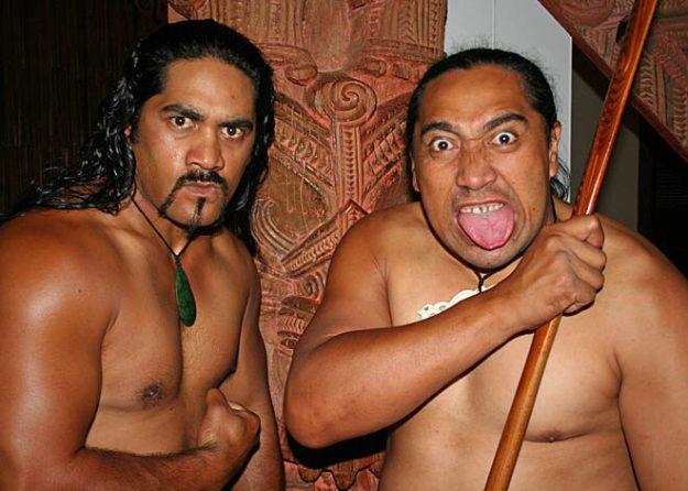 Dansföreställning. Auckland