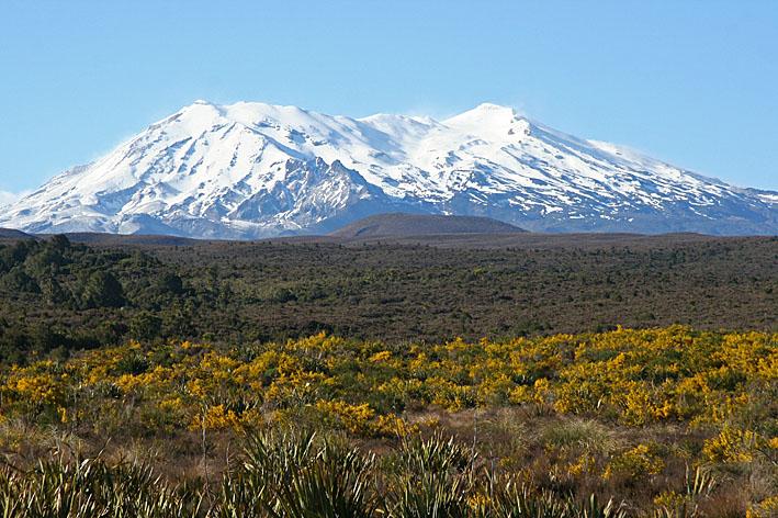 Tongariro National Park. Nya Zeeland (U)