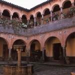 Kolonialt hus. Cusco