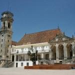 Universitetet. Coimbra. Portugal