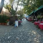 Stenbelagd gata. Belgrad