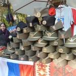 Populära souvenirer. Belgrad