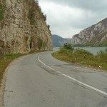 Vägen längs Donau. Golubac
