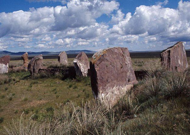 """""""Sibiriens Stonehenge"""". Salbyk. Abakan"""