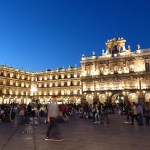 Plaza Mayor, Salamanca. Spanien